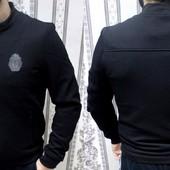 Весенние мужские куртки с кожаными вставками