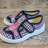Качественные детские текстильные тапочки обувь Waldi купить недорого