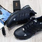 Кроссовки Adidas из натур. кожи, р. 42,43,44,46, код kv-2242