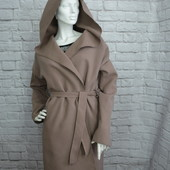 Кашемировое пальто, новое S/M