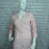 Кофта, блузка розовая новая, L