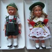Куклы танцующие механические винтаж тирольские 60 гг. Германия