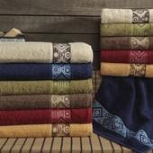 пушмистое махровое полотенце для мужчины