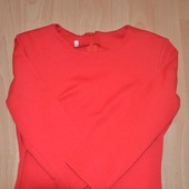 Платье чехол красное