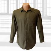 Рубашка в клетку хлопок вискоза р.М Claiborne Сша