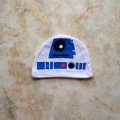 Шапочка фирмы Mothercare на возраст 0-3 мес Star Wars Звёздные войны
