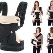 Эргорюкзак Four Position Ergobaby 360 baby carrier black / camel