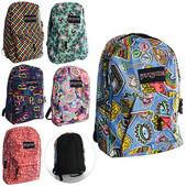 Рюкзак , розмір великий, 1 відділення, карман з застібкою-блискавкою, 6 видів, кул., 41-31-10