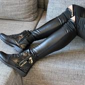 Последние 37 и 39 размеры  Мега стильные женские деми ботинки Недорого