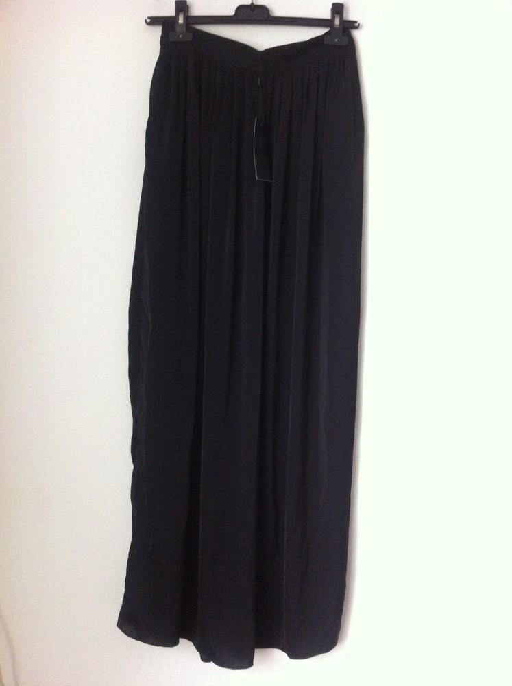 Длинная шелковая юбка  bcbgmaxazria фото №1