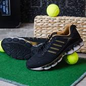 Мужские кроссовки на ребристой платформе 12520