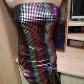 миди платье S - M польща