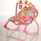 Детский шезлонг - качалка M 3240