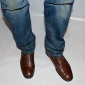 Ботинки 44 р., Van dalen, Италия, кожа, оригинал демисезон.