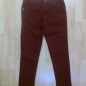 Фирменные цветные джинсы 9-10 лет