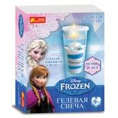 Гелевая свеча Фрозен Frozen изготовление 15162018 ранок креатив