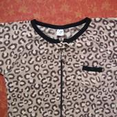 Женский флисовый человечек-пижама размер 12-14 (М) Chic Abode, б/у. Очень хорошее состояние, без деф
