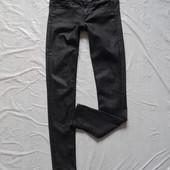 W28 L32, S-M, поб 46-48, узкачи! укороченные джинсы скинни лиоцелл H&M