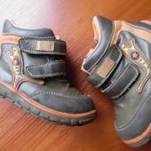 Деми ботинки на мальчика 24-25р стелька 15 см