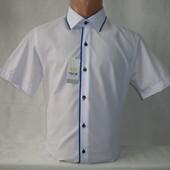 Мужская рубашка с коротким рукавом Nens, Турция. Разные цвета.