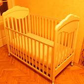 Детская кроватка + ортопедический матрас+бонус)