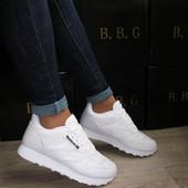 Кроссовки Reebok 40 и 41р белые