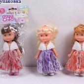 Кукла 17см Крошка Сью Play smart 5065 3вида в кульке