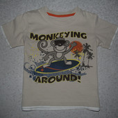 футболка 3-4года