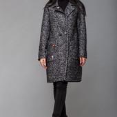 Пальто Будапешт из полушерсти в расцветках. Размеры: 42,44,46,48 (4