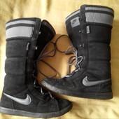 Замшевые ботинки Nike оригинал р.39-24.5см.
