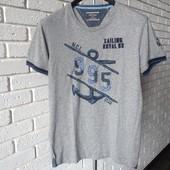 Мужская футболка серая S