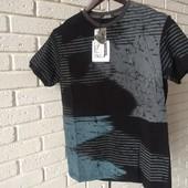 Мужская футболка черная M L