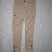 р. 152-158, джинсы скинни внизу на замках Yigga для девочки подростка