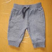 0-3 мес., спортивные штаны F&F спортивки фирменные в хорошем состоянии