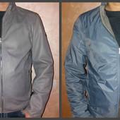 Куртка мужская 2 в 1, натур. кожа, р. L, Milestone