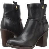 Женские кожаные сапоги Tommy Hilfiger! Оригинал!