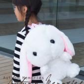 Очень милый плюшевый рюкзак-кролик, новый