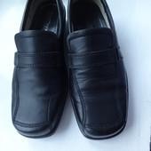Супер комфортные кожаные туфли  Hotter р.40