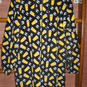 Пижама флисовая,  размер L рост до 185 см