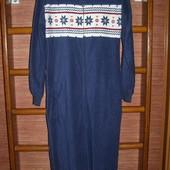 Пижама флисовая, мужская, размер S рост до 180 см