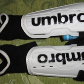 Футбольные щитки с голеностопом Umbro на мальчика p.S