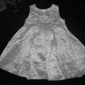 нарядное платье Tu 3 мес (реально до 6-9) как новое