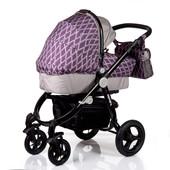 Универсальная коляска 2в1 Valenta Babyhit Китай фиолетовый 12122446