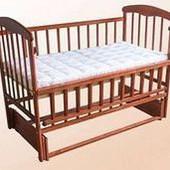 Кроватка «Наталка» - Маятник с откидной боковиной