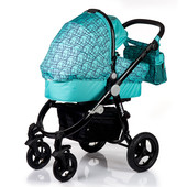 Универсальная коляска 2в1 Valenta Babyhit Китай голубой 12122445