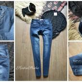 Стильные джинсы скинни Boohoo,р-р М