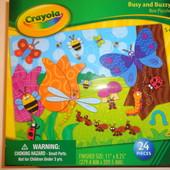 Пазлы Crayola, Америка.