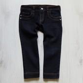 Плотные удлиненные джинсовые шорты для девочки или мамы. Miss e-vie. Размер 12-13 лет