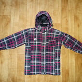 Лыжная куртка , мембрана 2000 мм. 146-160 , как новая .