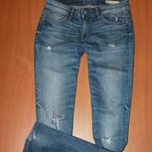 крутые джинсы zara размер 28